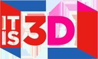 IT IS 3D