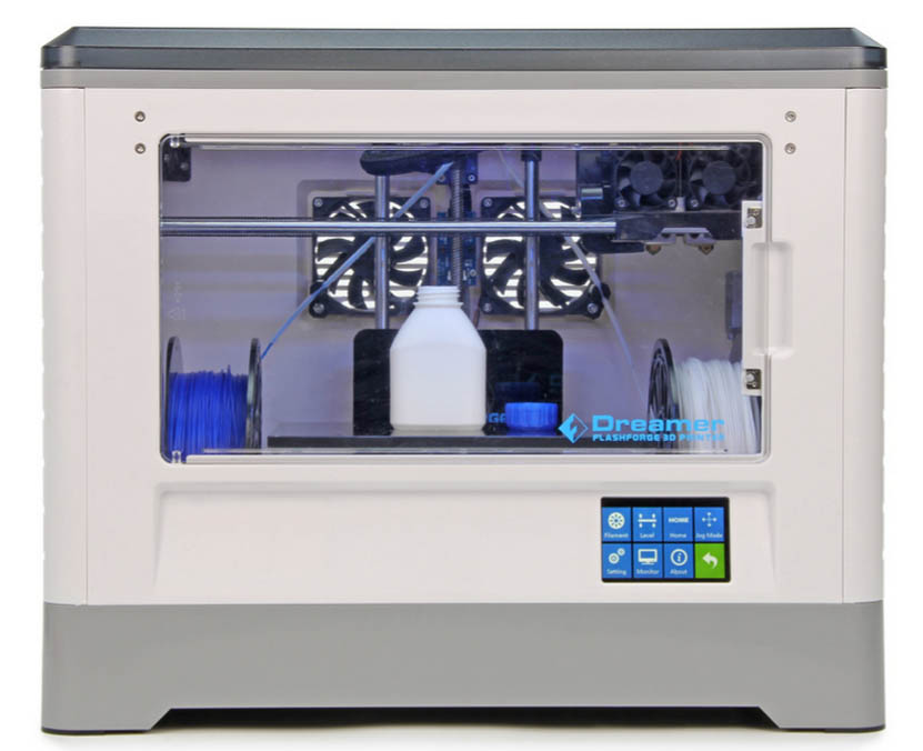 Dreamer 3D Printer Front