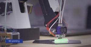 3D Printing dobot magician